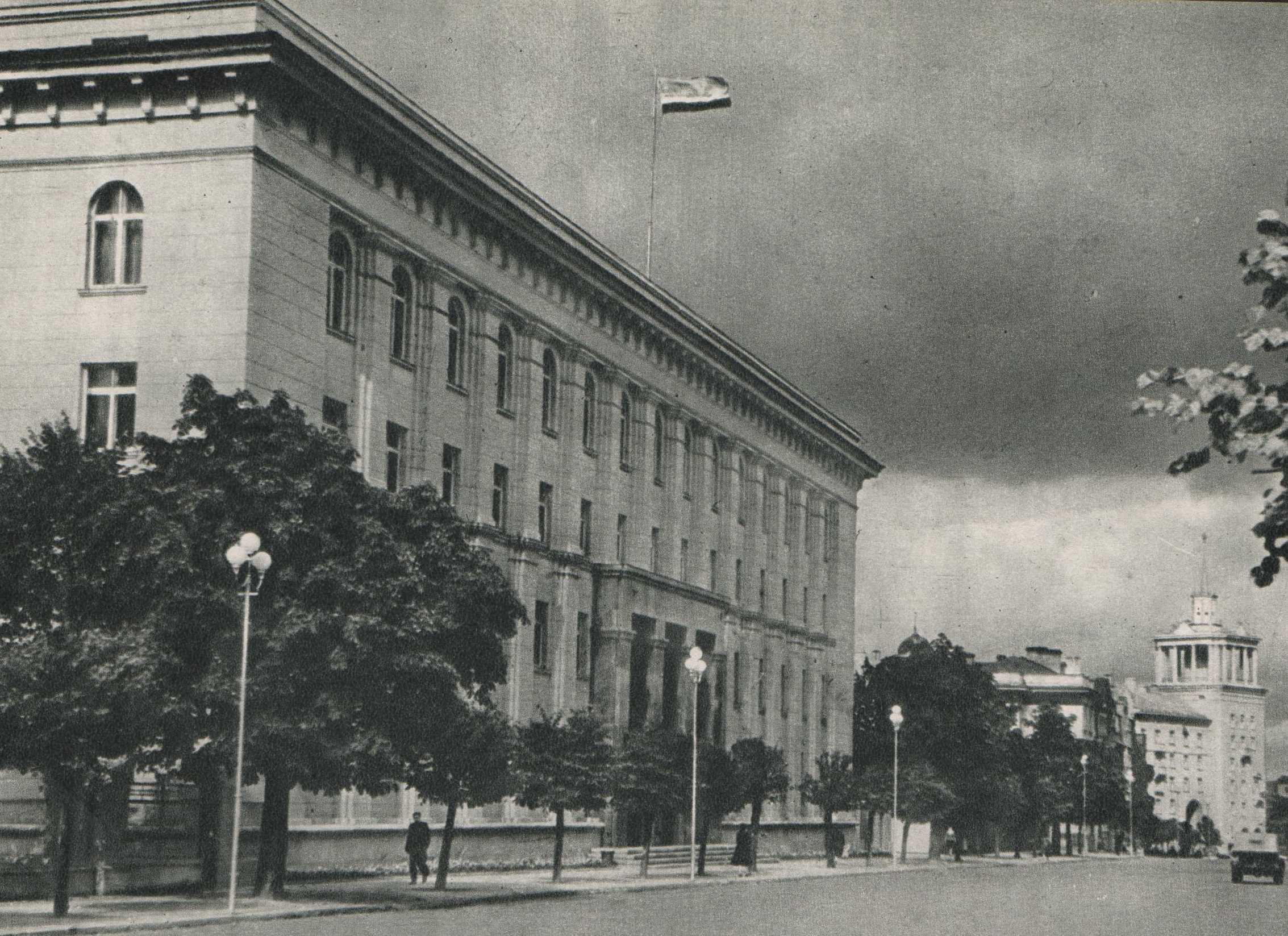 Vilnius, J. Tumo-Vaižganto g., sena nuotrauka
