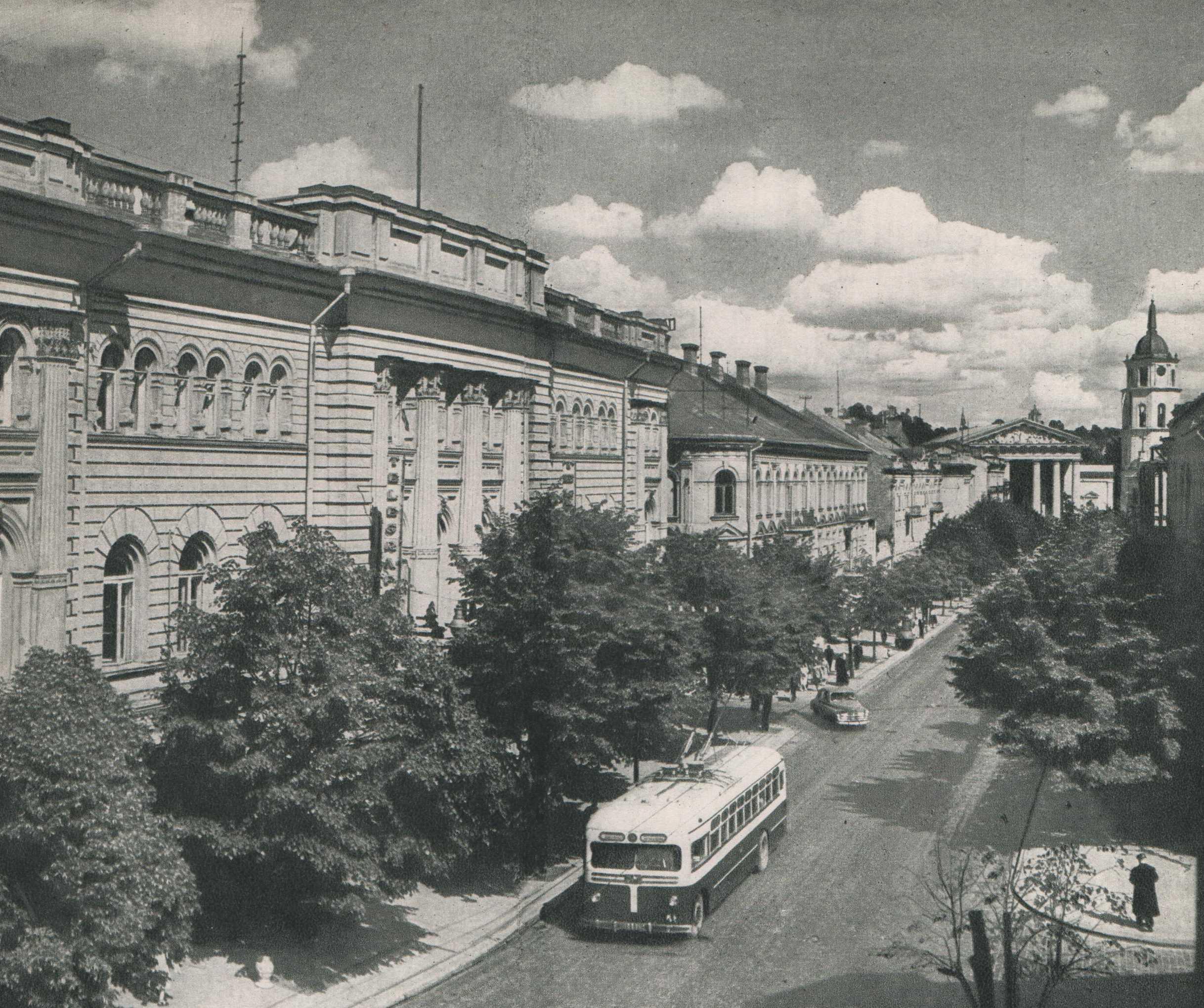 Vilnius, Gedimino pr., sena nuotrauka