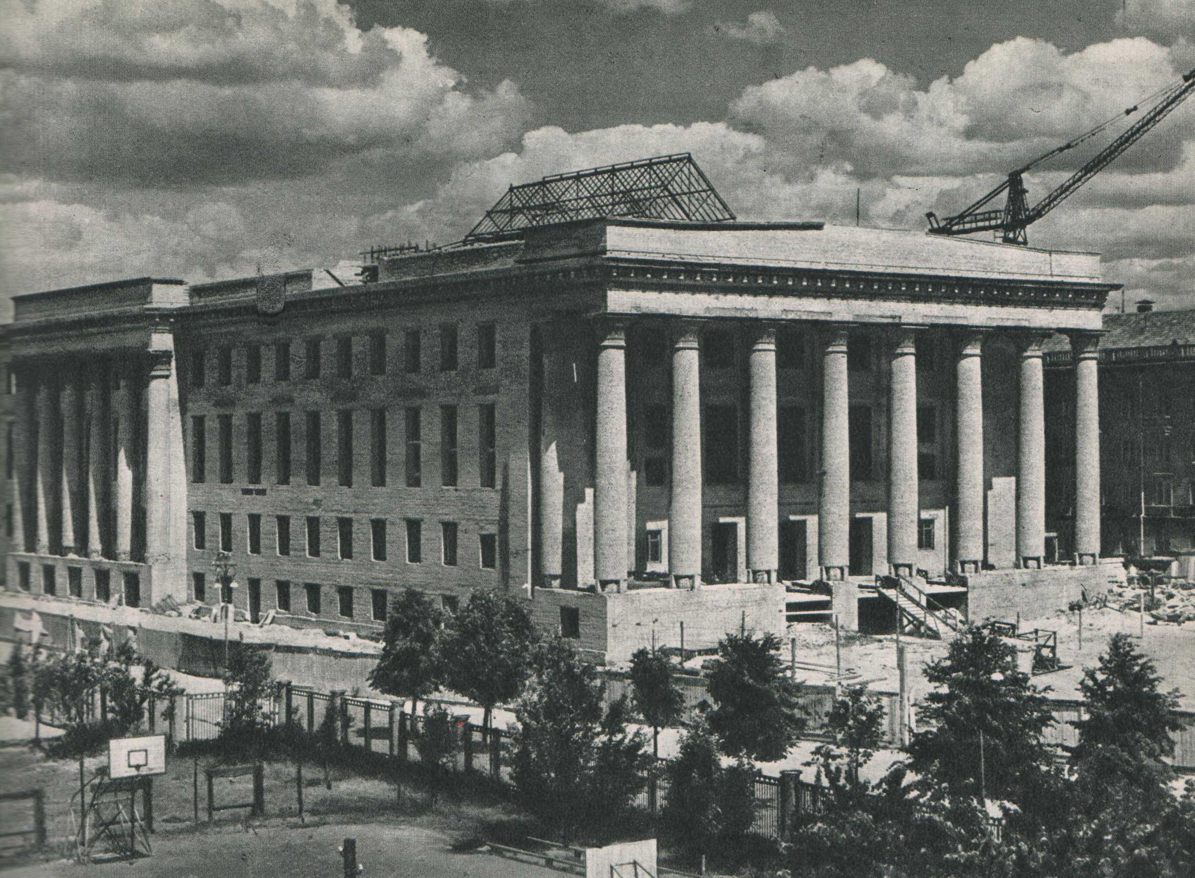 Vilnius, Gedimino pr. 51, sena nuotrauka