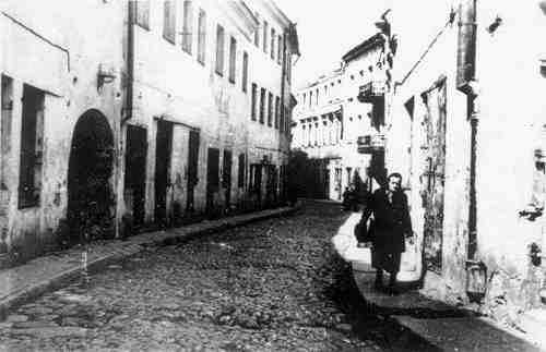 Vilnius, Stiklių g. 4, sena nuotrauka