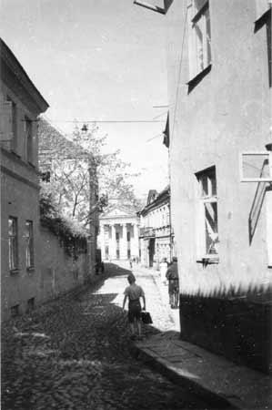Vilnius, S. Daukanto a. 2, sena nuotrauka