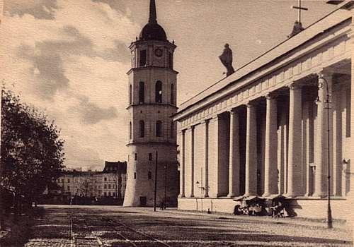 Vilnius, Gedimino pr. 2, sena nuotrauka
