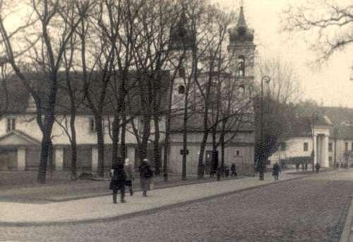 Vilnius, S. Daukanto a. 1, sena nuotrauka