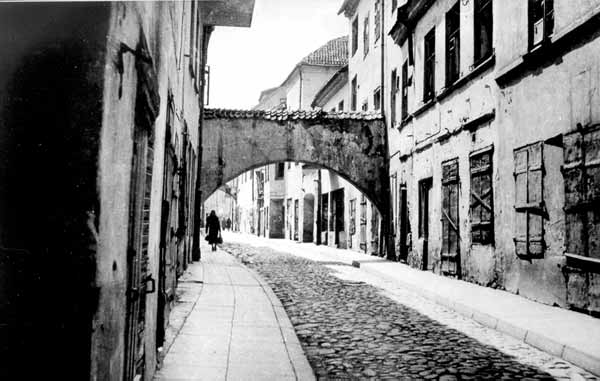 Vilnius, M. Antokolskio g., sena nuotrauka