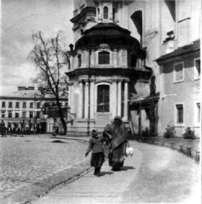 Vilnius, Vilniaus g. 28, sena nuotrauka
