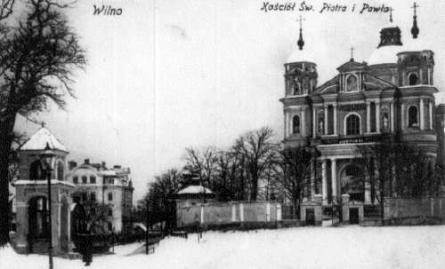 Vilnius, Antakalnio g., sena nuotrauka