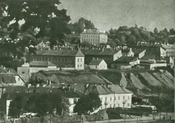Vilnius, Krivių g. 10, sena nuotrauka