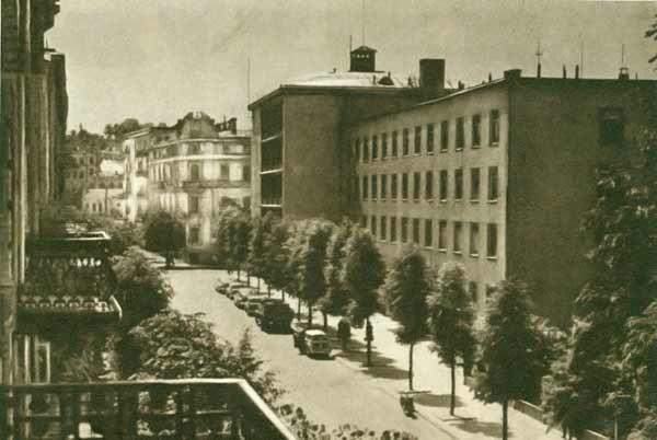 Vilnius, Gedimino pr. 27, sena nuotrauka
