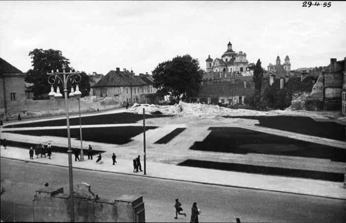 Vilnius, Didžioji g. 1, sena nuotrauka