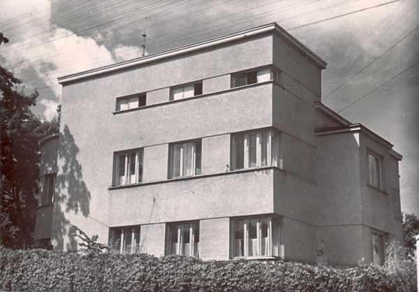 Vilnius, K. Kalinausko g. 3, sena nuotrauka