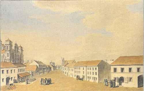 Vilnius, Arklių g. 4, sena nuotrauka