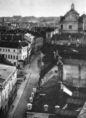 Vilnius, Dominikonų g. 11, sena nuotrauka