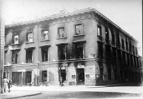 Vilnius, Vokiečių g., sena nuotrauka