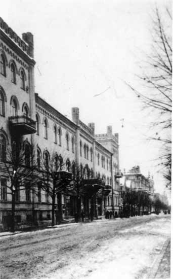 Vilnius, Gedimino pr. 28, sena nuotrauka