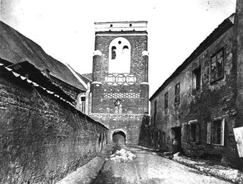 Vilnius, Pranciškonų g., sena nuotrauka