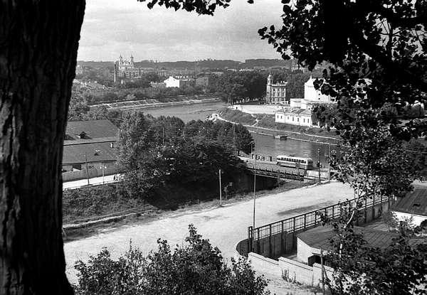 Vilnius, Upės g., sena nuotrauka