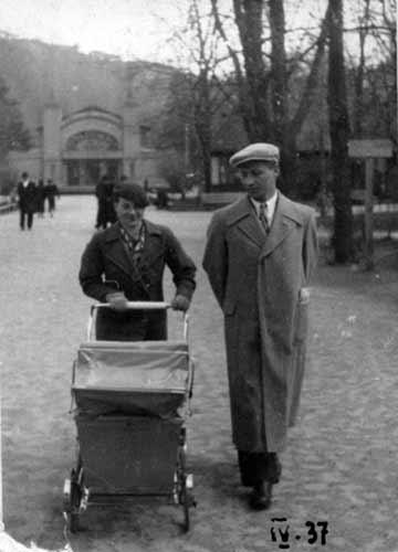 Vilnius, Barboros Radvilaitės g., sena nuotrauka
