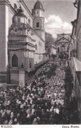 Vilnius, Aušros Vartų g. 12, sena nuotrauka