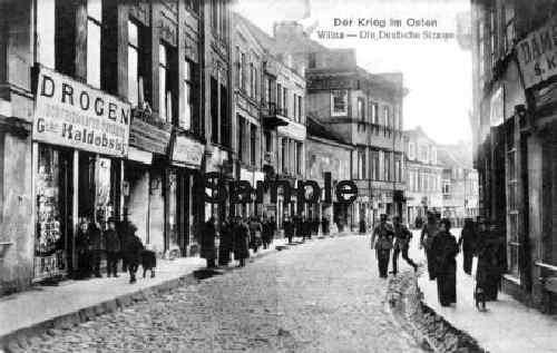 Vilnius, Vokiečių g. 10, sena nuotrauka
