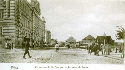 Vilnius, Gedimino pr. 40, sena nuotrauka