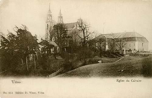 Vilnius, Kalvarijų g. 225, sena nuotrauka