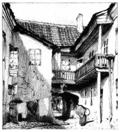 Vilnius, Barboros Radvilaitės g. 3, sena nuotrauka