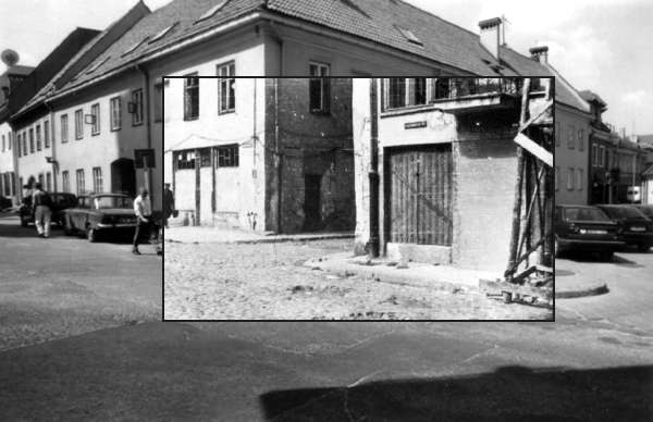 Vilnius, Rūdninkų g. 11, sena nuotrauka