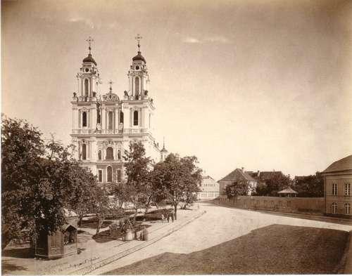 Vilnius, Klaipėdos g. 7, sena nuotrauka