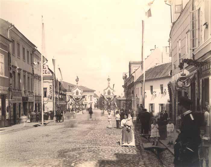 Vilnius, Aušros Vartų g., sena nuotrauka