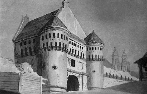 Vilnius, Bokšto g. 23, sena nuotrauka