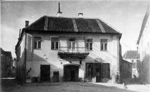 Vilnius, Karmelitų g. 4, sena nuotrauka