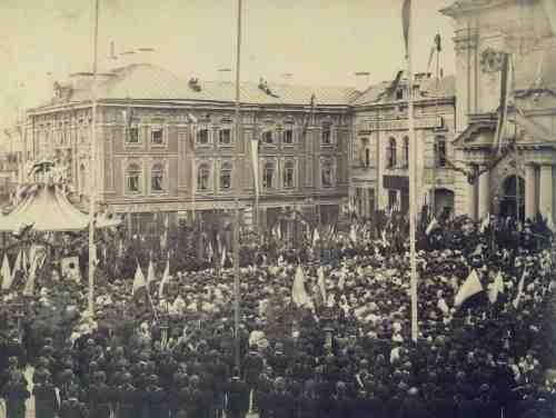 Vilnius, Didžioji g. 30, sena nuotrauka