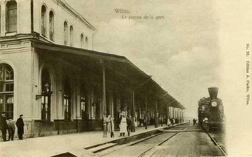 Vilnius, Geležinkelio g., sena nuotrauka
