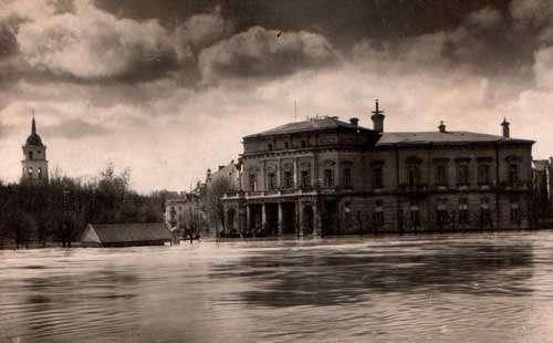 Vilnius, Katedros a., sena nuotrauka