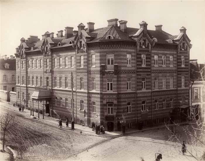 Vilnius, Geležinkelio g. 1, sena nuotrauka