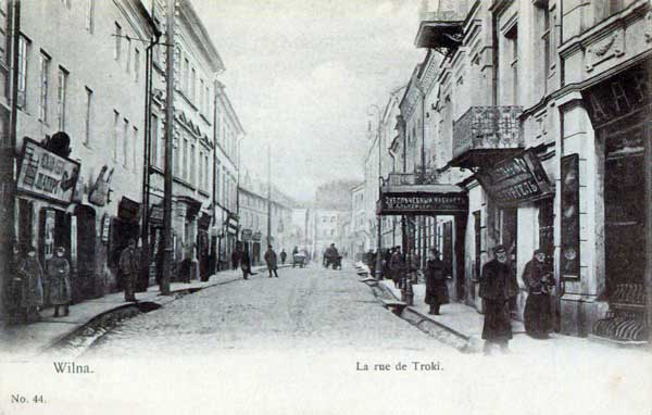 Vilnius, Trakų g. 11, sena nuotrauka