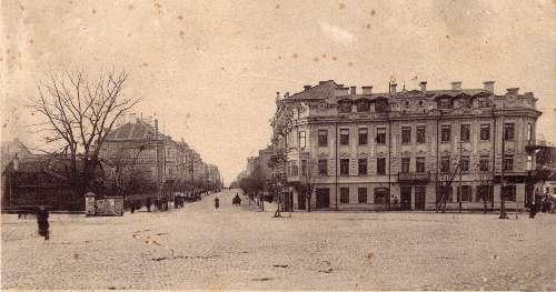 Vilnius, Gedimino pr. 1, sena nuotrauka