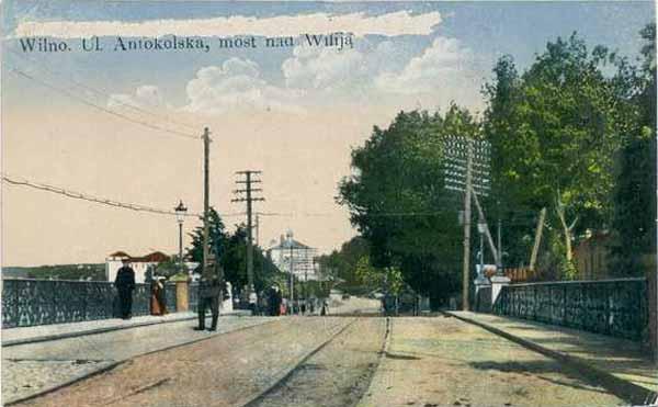 Vilnius, T. Kosciuškos g. 1, sena nuotrauka