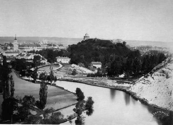 Vilnius, Barboros Radvilaitės g. 10, sena nuotrauka
