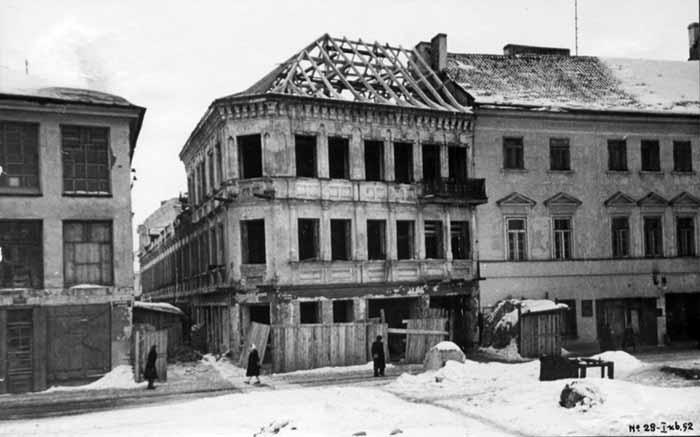 Vilnius, Mėsinių g. 1, sena nuotrauka
