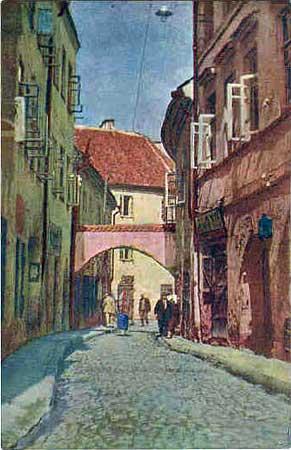 Vilnius, Stiklių g. 10, sena nuotrauka