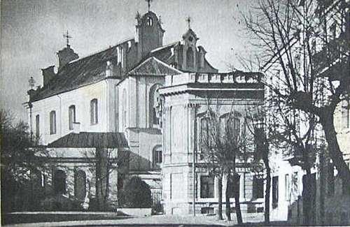 Vilnius, K. Sirvydo g. 4, sena nuotrauka