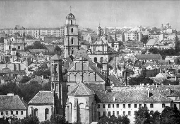 Vilnius, Dominikonų g. 8, sena nuotrauka