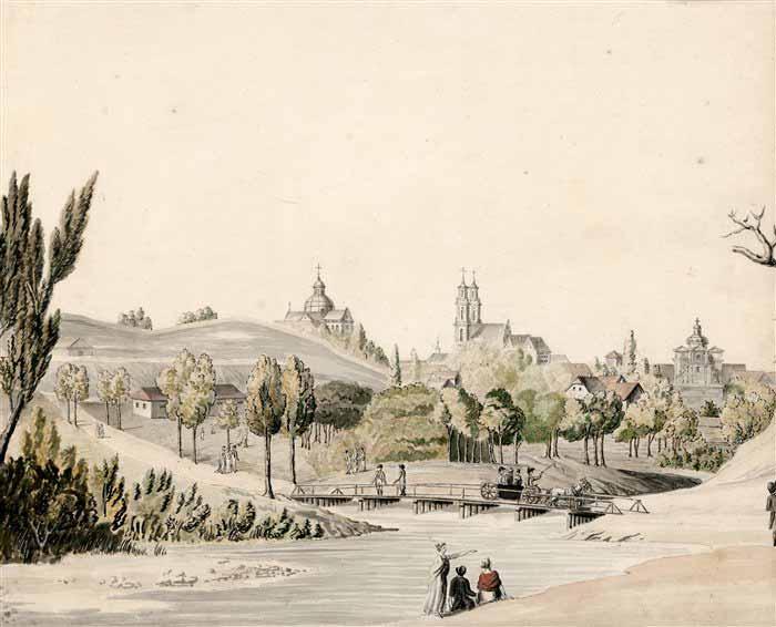 Vilnius, Didžioji g. 32, sena nuotrauka