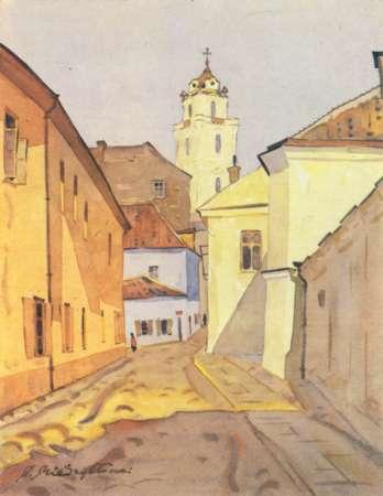 Vilnius, Pilies g. 21, sena nuotrauka