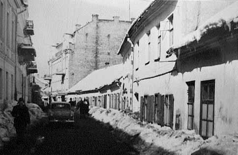Vilnius, Totorių g. 22, sena nuotrauka