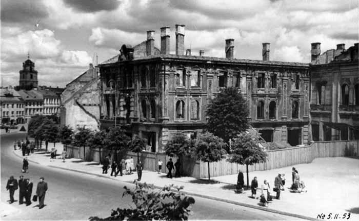 Vilnius, Didžioji g. 24, sena nuotrauka
