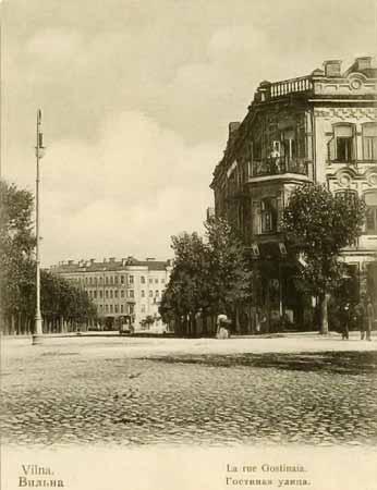 Vilnius, F. Šopeno g. 4, sena nuotrauka