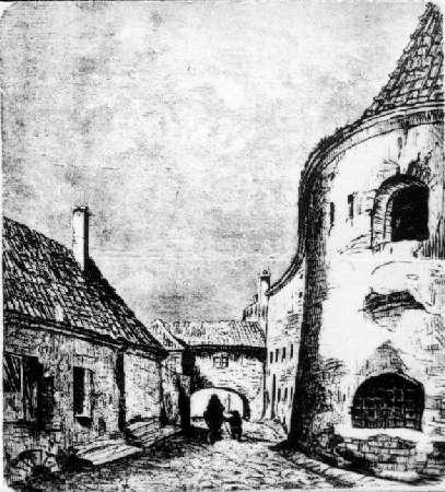 Vilnius, Lydos g., sena nuotrauka