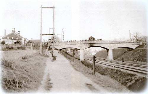 Vilnius, Balstogės g. 2, sena nuotrauka
